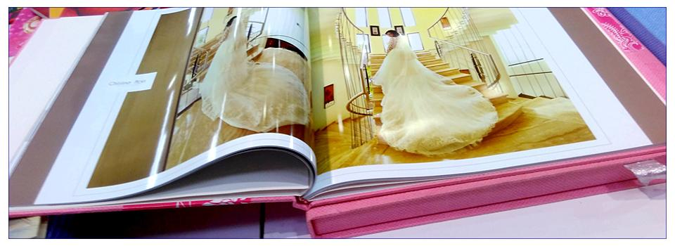 wedding album design and printing uk