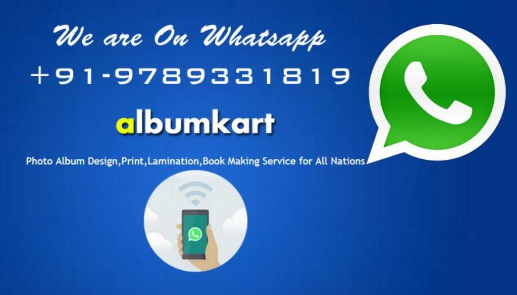 Make Your Photo Album Online with Whatsapp