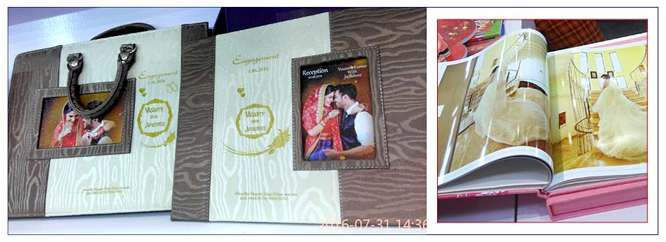Mumbai Indian Wedding Photo Book Samples